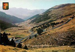 Pujada Al Port D'Envalira, Andorra Andorre Postcard - Andorra