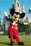 DisneyWorld, Florida, United States USA US Postcard Used Posted To UK 1989 Stamp - Disneyworld