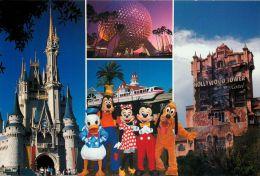 DisneyWorld, Florida, United States USA US Postcard Used Posted To UK 2000 Stamp - Disneyworld