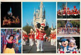 DisneyWorld, Florida, United States USA US Postcard Used Posted To UK 1990 Stamp - Disneyworld