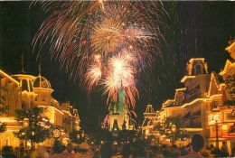 DisneyWorld, Florida, United States USA US Postcard Used Posted To UK 1988 Stamp - Disneyworld