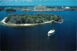 Discovery Island, DisneyWorld, Florida, United States USA US Postcard Used Posted To UK 1992 Stamp - Disneyworld