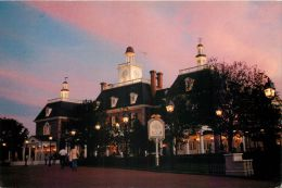Epcot Center, DisneyWorld, Florida, United States USA US Postcard Used Posted To UK 1992 Stamp - Disneyworld