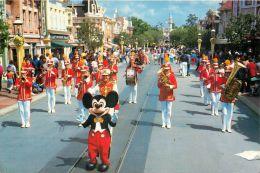 DisneyLand, United States USA US Postcard Used Posted To UK 1988 Stamp - Disneyland