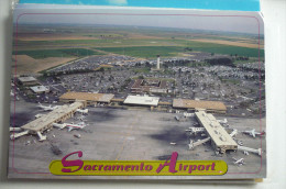 AEROPORT  / FLUGHAFEN / AIRPORT      SACRAMENTO   INTERNATIONAL    AIRPORT - Aerodrome