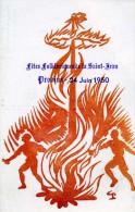 77 SEINE ET MARNE PROVINS 1950 FÊTES FOLKLORIQUES DE LA SAINT JEAN ILLUSTRATEUR - Provins