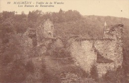 Belgique - Malmédy - Ruines Du Château Renarstène - Editeur Boitsfort - Malmedy