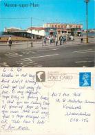 Weston Super Mare, Somerset, England Postcard Posted 1990 Stamp Salmon - Weston-Super-Mare