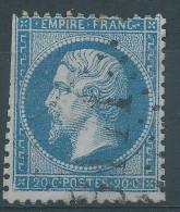 Lot N°25358   Variété/n°22, Oblit  GC 3171 ROCHEFORT-S-MER (16), Filets SUD Et OUEST, C De FRANC - 1862 Napoleon III
