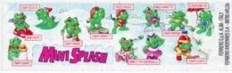 Kinder - Série Complète Mini Splash Avec Bpz - Familles