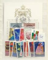 1967 USED Liechtenstein,Year Collection, Complete According To Michel, Gestempeld - Gebruikt