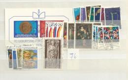 1976 USED Liechtenstein, Year Collection, Complete According To Michel, Gestempeld - Liechtenstein