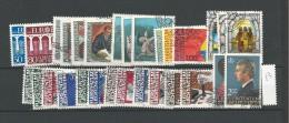 1984 USED Liechtenstein, Year Collection, Complete According To Michel, Gestempeld - Liechtenstein