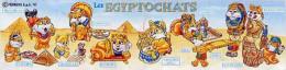 Kinder - Série Complète Egyptochats Italie (sans Bpz) - Familles