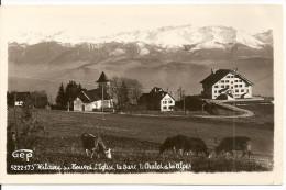 Saint-Hilaire-du-Touvet -  L'Eglise, La Gare, Le Chalet Et Les Alpes - Saint-Hilaire-du-Touvet