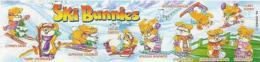 Kinder - Série Complète Ski Bunnies (sans Bpz) - Familles