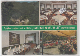 """CPM GF -  Allemagne -  Multivues """" Laukenmühle"""" Im Wispertal  ( Collage Verso) - Deutschland"""