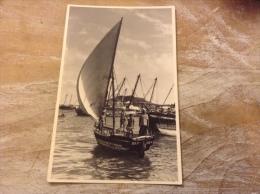 Aden Sail Boats Maalla  (cpsm Format Cpa) - Yemen