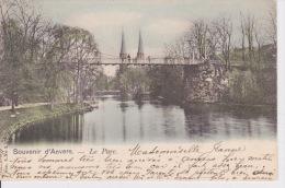 Souvenir D'Anvers. - Le Parc.  - 1901; - Antwerpen