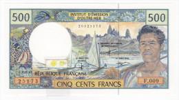 Polynésie Française / Tahiti - 500 FCFP - F.009 / 2000 / Signatures Severino/Redouin/Teyssere - Neuf / UNC - Papeete (Polynésie Française 1914-1985)