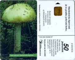Telefonkarte Slowakei - Pilz - Aufl. 100000 - 09/98 - Slowakei