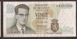 België Belgique Belgium 15 06 1964 20 Francs Atomium Baudouin. 2 R 8857910 - [ 6] Treasury