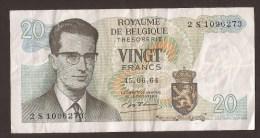 België Belgique Belgium 15 06 1964 20 Francs Atomium Baudouin. 2 S 1096273 - [ 6] Schatzamt