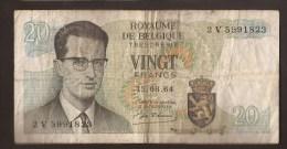 België Belgique Belgium 15 06 1964 20 Francs Atomium Baudouin. 2 V 5991823 - [ 6] Treasury