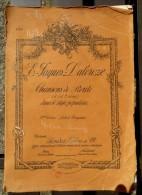 LIVRET DE CHANSONS DE ROUTE DE 1904 De Emile Jacques DALCROZE (scout). Livret Introuvable - Musique Folklorique