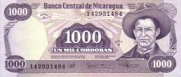 NICARAGUA   1 000  Cordobas  Non Daté (1987)   Pick 145 B        ***** BILLET  NEUF ***** - Nicaragua