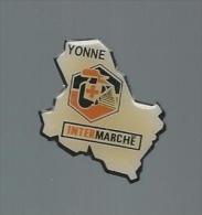 -P- PINS INTERMARCHE YONNE - Pin's