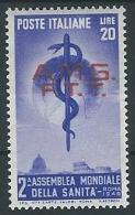 1949 TRIESTE A SANITA MH * - ED278-2 - Ungebraucht