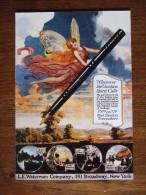 Waterman Carte Postale - Pubblicitari