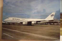 AIR ATLANTA ICELANDIC    B 747 128   TF ABG - 1946-....: Moderne