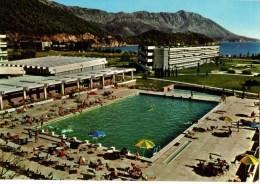 C P S M-C P M-----BUDVA--- Hotel International--la Piscine----voir 2 Scans - Montenegro