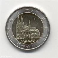 """2 Euro 2011 ALLEMAGNE  """"Cathédrale De Cologne"""" UNC - Germany"""