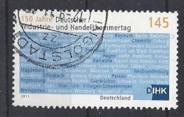 Germany 2011  150 Jahre Deutscher Industrie- Und Handelskammertag (o)  Mi.2865 - [7] République Fédérale