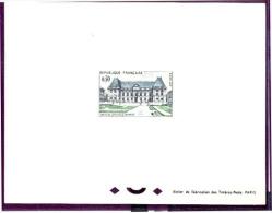 FRANCE - N° 1351 Epreuve De Luxe ( Deluxe Sheet ) Palais De Justice De Rennes. - Prove Di Lusso