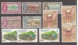 BAHAMAS / VRAC Lot De 11  Timbres Oblitérés (avec Doublons)    // Liquidation - Sonstige - Amerika