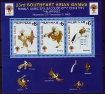 Philippinen Pilipinas 2005 - MiNr Bl 217 - Bogenschießen Schießen Springreiten - Briefmarken