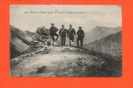 DOUANE - Rencontre D'Alpins Italiens Et Français Au Mamelon Frontière - Douane