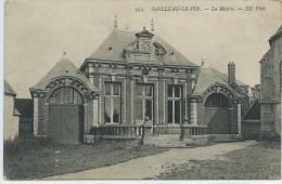 28, Eure Et Loir, BAILLEAU-le-PIN, La Mairie, Scan Recto-Verso - Otros Municipios
