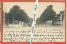 MONS  -     Avenue De Jemappes  -  1903  (rue Sous Contrôle De L´armée) - Mons