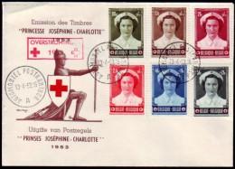 Belgie - Rode Kruis - Overstromingen 1953 - Automobiel Postkantoor A  13-4-53 - Croix-Rouge