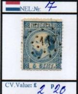 NETHERLAND:THE KINGDOM #CLASSIC DEFINITIVES (NEL 260-1 (1) - Period 1852-1890 (Willem III)