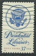 USA 2005 Presidential Libraries 37c USED SC 3930 YV 3681 MI 3958 SG 4459 - Etats-Unis