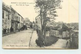 BOISSY L´AILLERIE  -  Rue Du Poit De Vigne. - Boissy-l'Aillerie