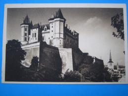 49 : SAUMUR : Le CHATEAU , C.P.A., Carte En Trés Bon état, - Castles
