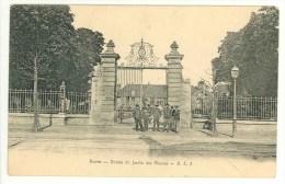CPA 76 - ROUEN - Entrée Du Jardin Des Plantes - Rouen