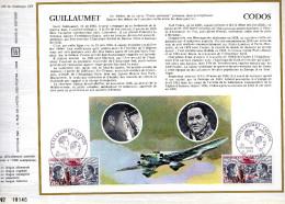 Feuillet Tirage Limité CEF 225 Aviation Avion Guillaumet Codos - France